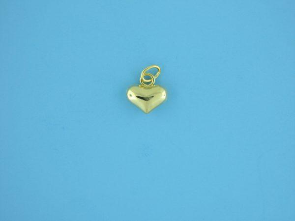 1780 - 10x10mm 14K Gold Filled Pendant - Heart