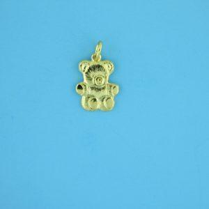 1786 - 11X15mm Gold Filled Pendant - Teddy Bear