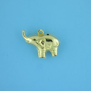 1788 - 18X21mm Gold Filled Pendant - Elephant