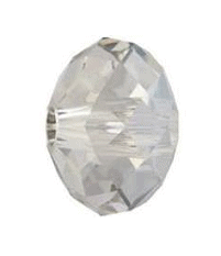 5041 - 18mm Swarovski Briolette Beads (Large Hole) - Silver Shade
