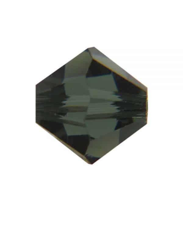 5301/5328 - 8mm Swarovski Bicone Crystal Bead - Morion