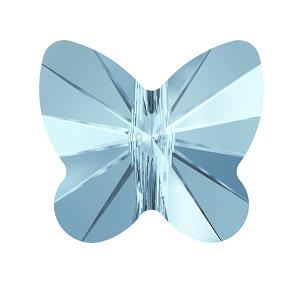 5754 - 12mm Swarovski Butterfly Bead - Aquamarine