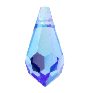6000 - 11x5.5mm Swarovski Crystal Drop Pendants - Sapphire AB