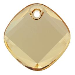 6058 - 18mm Swarovski Metro Pendant - Golden Shadow