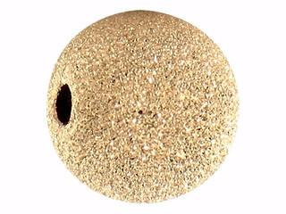 901 - 3mm Gold Filled Stardust Bead