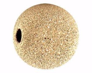 904A - 7mm Gold Filled Stardust Bead