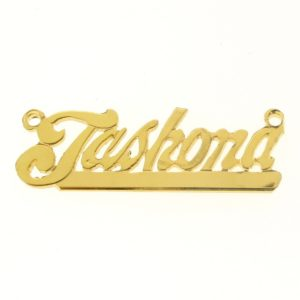 # 9630 - 14K Gold Filled Name Plate For Necklace - Jashona