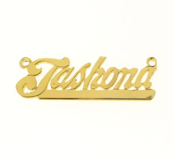 # 9630 - 14K Gold Filled Name Plate For Necklace - Jashona