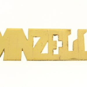 # 9639 - 14K Gold Filled Name Plate For Necklace - Minzell