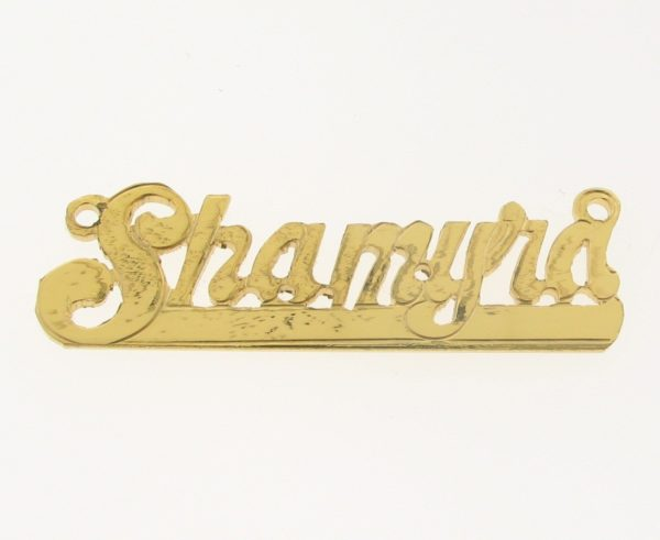 # 9645 - 14K Gold Filled Name Plate For Necklace - Shamyra