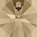 # 6401 - 12mm Swarovski Octagon Pendant - Golden Shadow