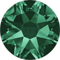 #2028 - SS12 (3.1mm) Swarovski Flat Backs - Emerald