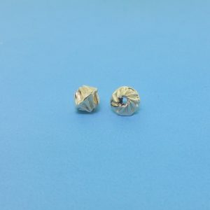 152 - 4x5.6mm Gold Filled Fancy Bead