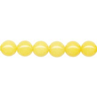 9102 - 4mm Yellow Jade - 16'' Strand