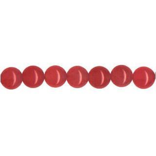 9109 - 4mm Red Jade - 16'' Strand