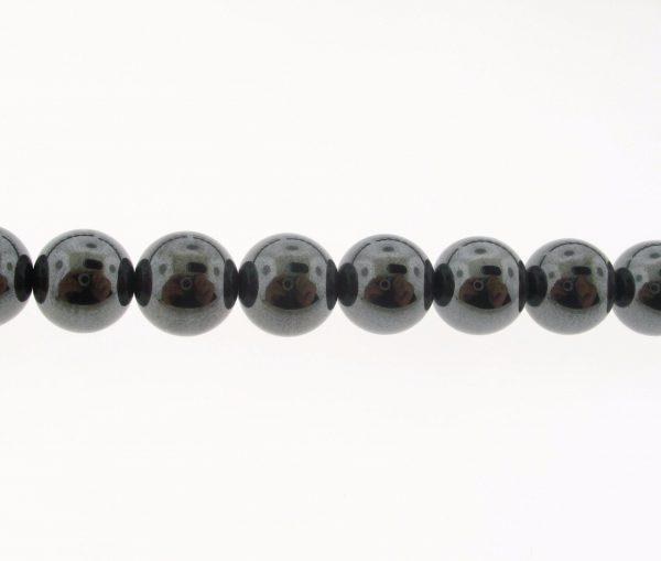 9114 - 4mm Hematite - 16'' Strand