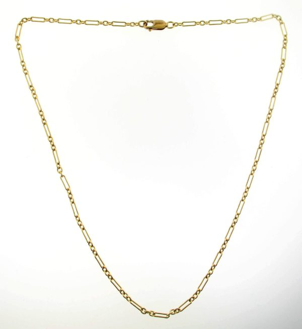# 2323 - 14K/20 Gold Filled Long & Short Chain Necklace