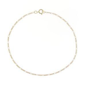 # 2329 - 14K/20 Gold Filled Thin Figaro Chain For Bracelet