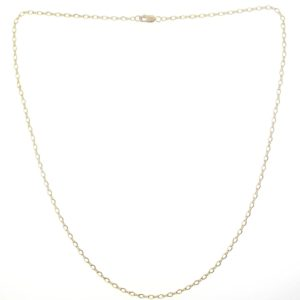 # 2334 - 14K/20 Gold Filled Figure 8 Chain Necklace