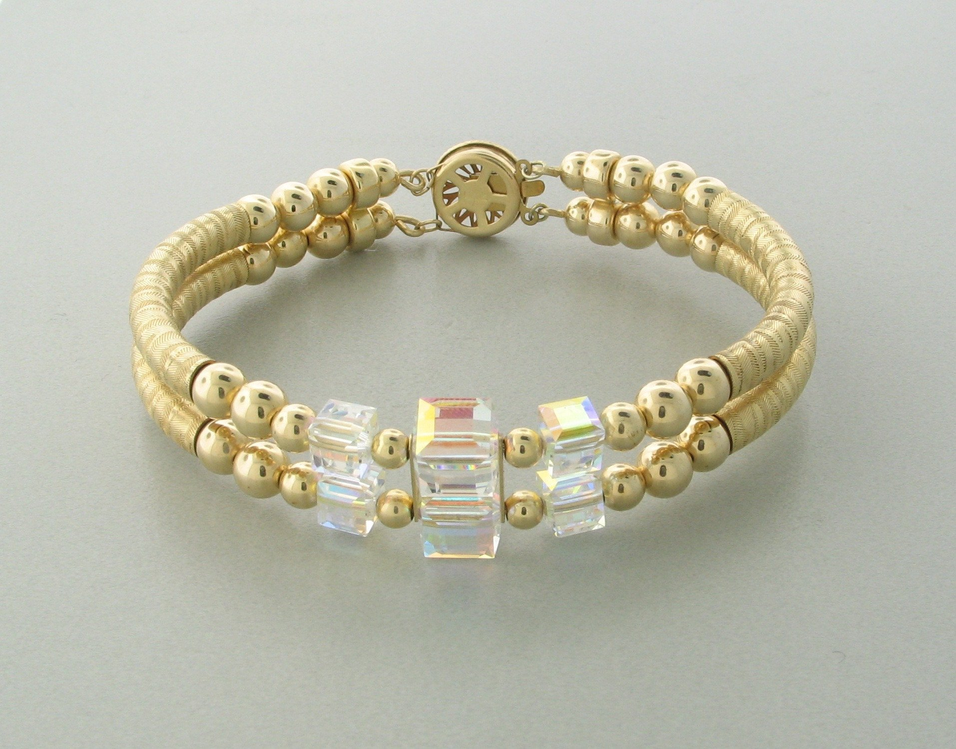 """Swarovski Bead Layering Bracelets Are So Fashionably """"In""""! Get In On The Trend!"""