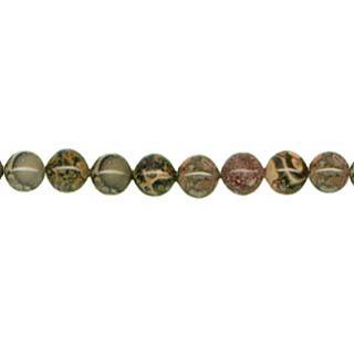 "9147 - 8mm Leopard Skin stone Beads - 16"" Strand"
