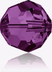 5000 - 6mm Swarovski Round Crystal Bead - Amethyst