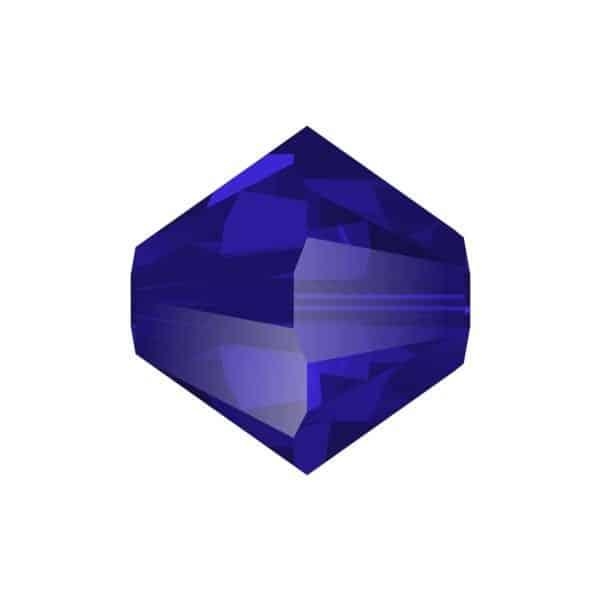 5301/5328 - 8mm Swarovski Bicone Crystal Bead - Cobalt Blue
