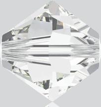5301/5328 - 12mm Swarovski Bicone Crystal Bead - Crystal