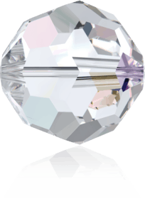 5000 - 6mm Swarovski Round Crystal Bead - Crystal AB