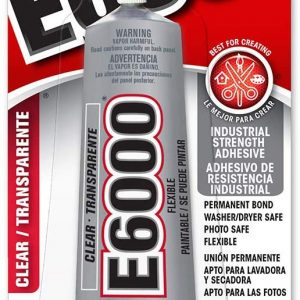 11012 - E 6000 Clear Jewelry Glue