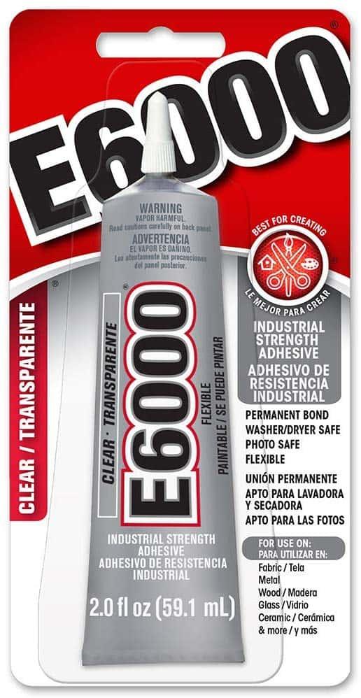 11012 - E 6000 Clear Jewelry Glue