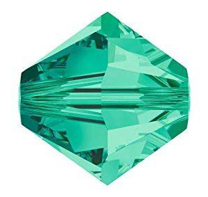 5301/5328 - 4mm Swarovski Bicone Bead - Light Emerald