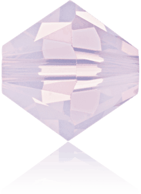 5301/5328 - 4mm Swarovski Bicone Bead - Rose Water Opal
