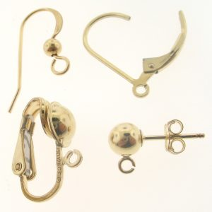 Gold Filled Earring Findings