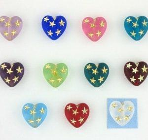 Heart Star Beads