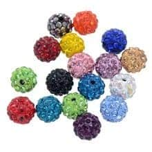 Buy High Quality Shamballa Beads Online at crystal Findings