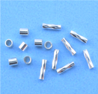 Sterling Silver Crimps Beads