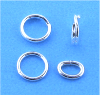 Sterling Silver Jump and Split Rings