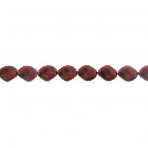 5826 - 9x8mm Swarovski Curved Pearl - Bordeaux