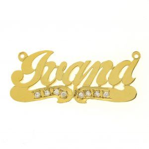 Gold Filled Name Plates