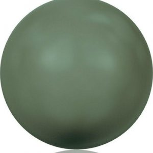 5810 - 3mm Swarovski Round - Dark Green Pearl