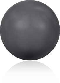 5810 - 6mm Swarovski Round - Dark Grey Pearl