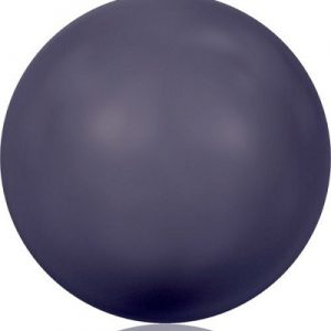 5810 - 6mm Swarovski Round - Dark Purple Pearl