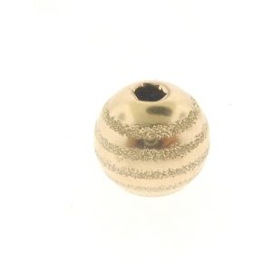 Gold Filled Fancy Round Beads