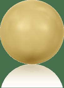 5810 - 6mm Swarovski Round - Gold Pearl