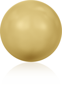 5810 - 4mm Swarovski Round - Gold Pearl