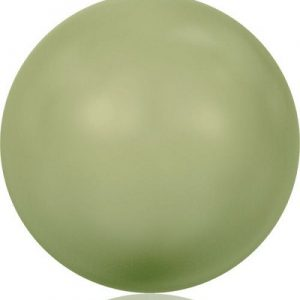 5810 – 8mm Swarovski Round – Light Green Pearl