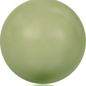 5810 – 12mm Swarovski Round – Light Green Pearl