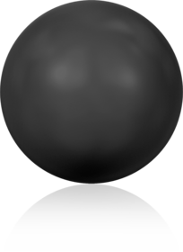 5810 – 12mm Swarovski Round – Mystic Black Pearl