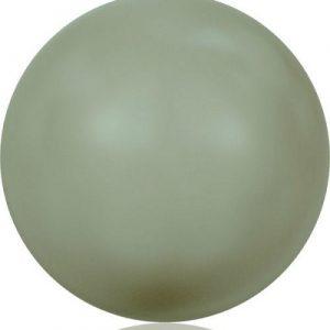 5810 – 12mm Swarovski Round – Powder Green Pearl